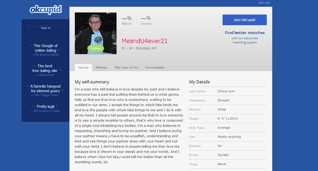 okcupid scammers pictures