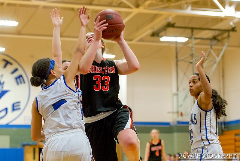 Shelton vs. West Haven High - High School Girls Basketball
