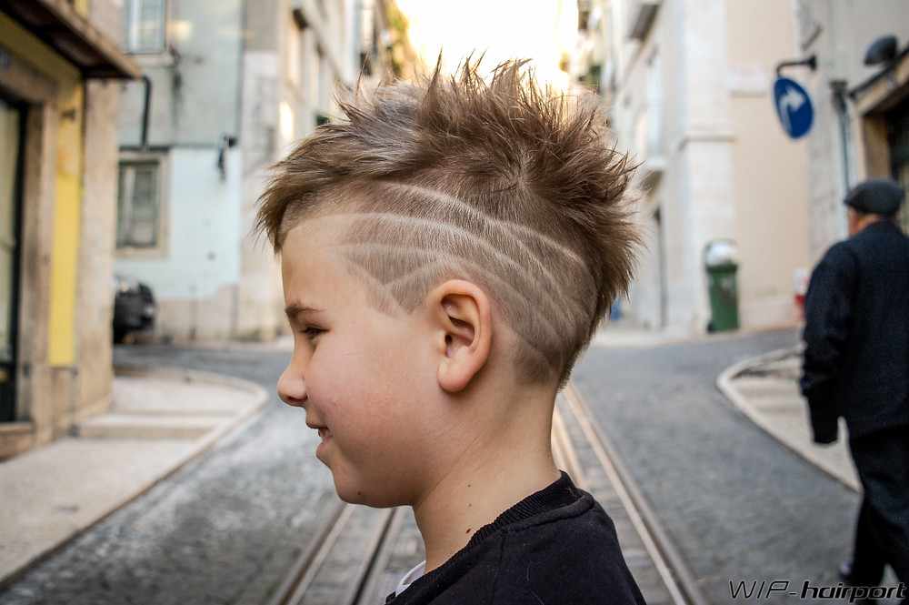 Mohawk Kid Hairstyle Haircut By Cludia Wip Hairport Flickr
