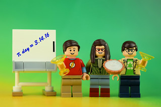 "Happy Pi Day from the Big ""Pie"" Theory! 