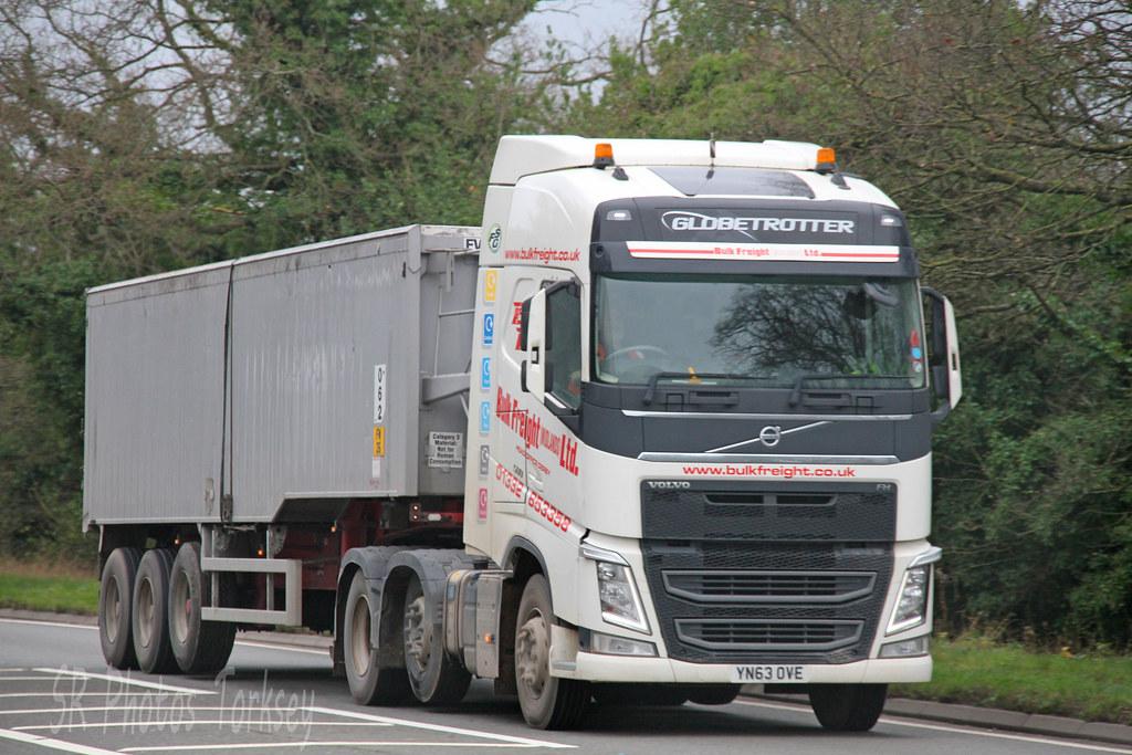 3ab9c59ed6ee ... Volvo FH Bulk Freight (Midlands) Ltd YN63 OVE