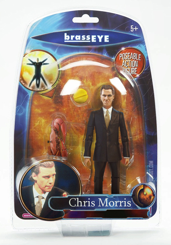 Amazing action figure concepts by Douggy - Brass Eye Chris Morris