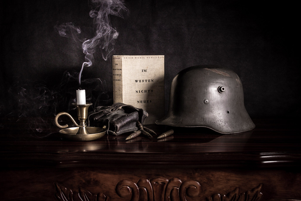 Im Westen Nichts Neues A Still Life Tribute To The Timeles