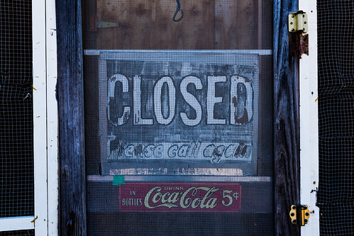 Closed - Please Call Again | by Tony Webster