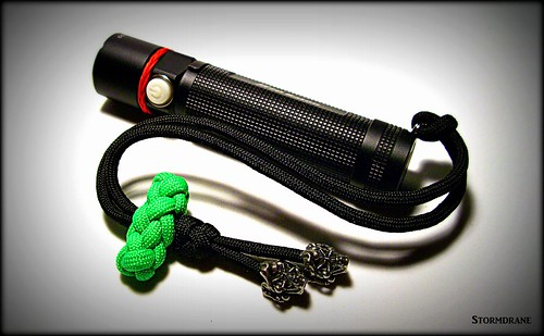 Paracord wrist lanyard with toggle knot | by Stormdrane