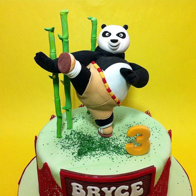 Masterpo Kungfu Panda Birthdaycake Kidscake Cakeshop Flickr