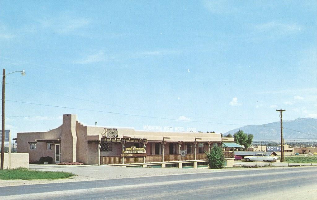 Mountain View Motel Lodge - Taos, New Mexico