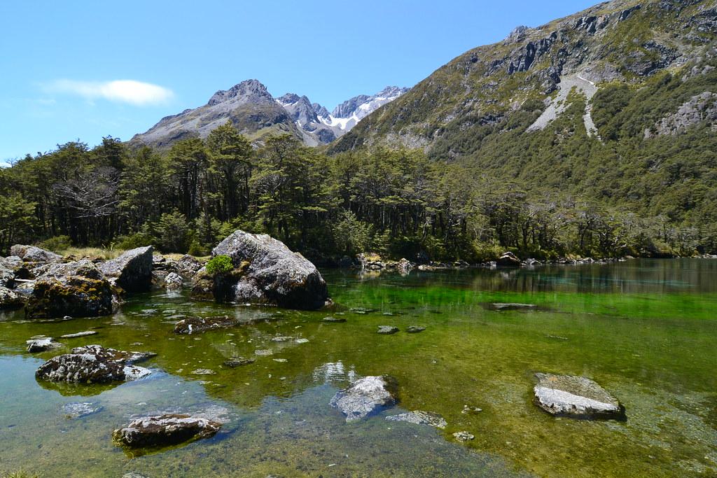 Rotomairewhenua / Blue Lake