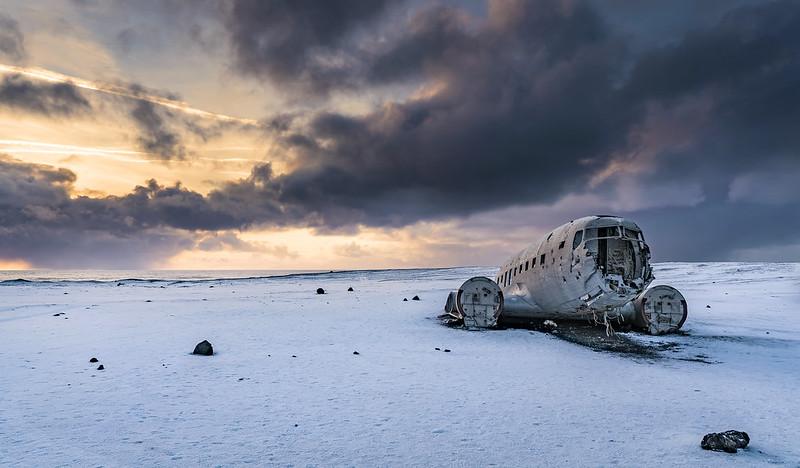 Icelandic Plane Wreck