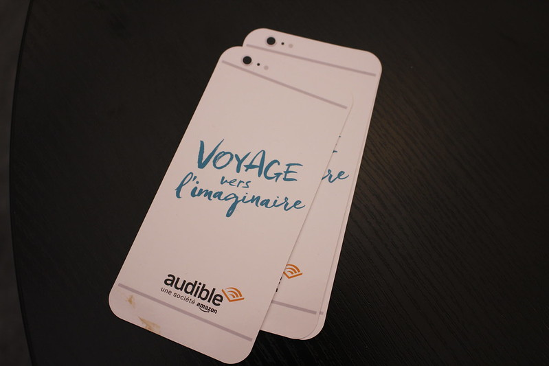 Audible - Livre Paris 2016