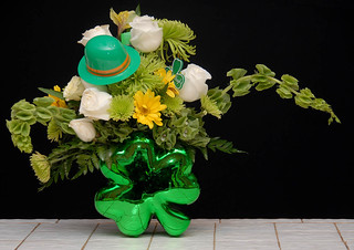 St. Patrick's Day — Photo Courtesy The Rittners School of Floral Design, Boston | by Flower Factor