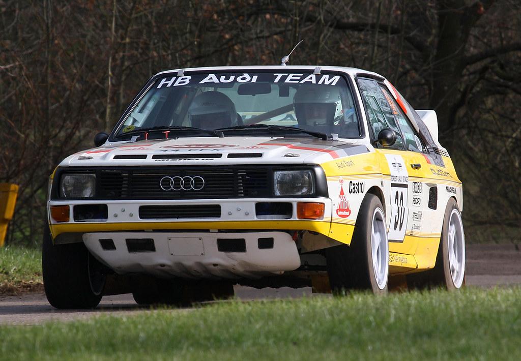 1985 Audi Sport Quattro S1 44 Cfx 2200cc Race Retro Flickr