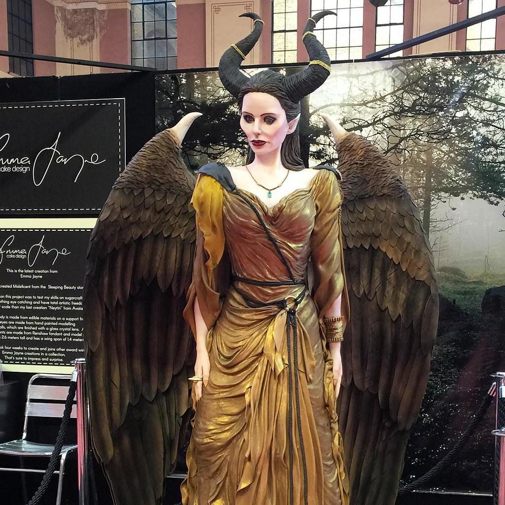 Maleficent at Cake International 2016
