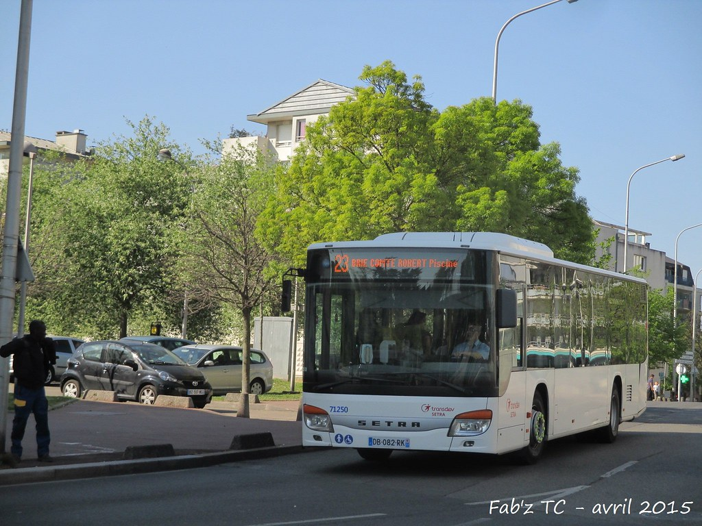 ... Transdev SETRA : S415NF Clim n° 71250 sur la ligne 23 | by fabricetc