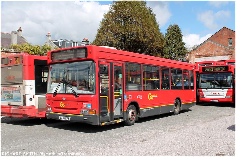 Plymouth Citybus LX05EYA