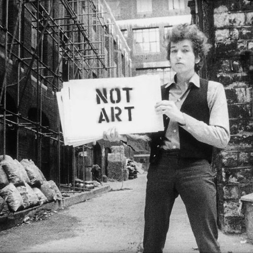Don't Look Back #NotArt #BobDylan | by NOT_ART