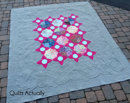 Liberty and Linen Meadown Quilt | by QA Creations