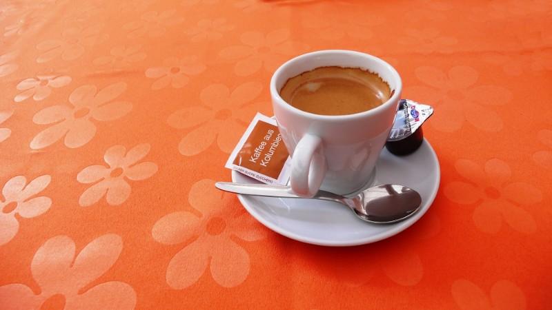 Orange coffee