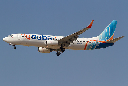 Fly Dubai_B738_A6-FDN_Crashed Rostov 19 March 2016_DXB_20150519_MG_8344_Colormailer_Flickr | by BrunoGeiger