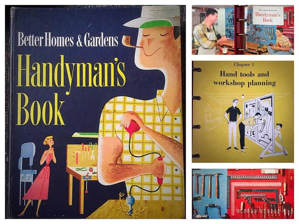 betterhomesandgardens Handyman's Book #handyman #1951 #19