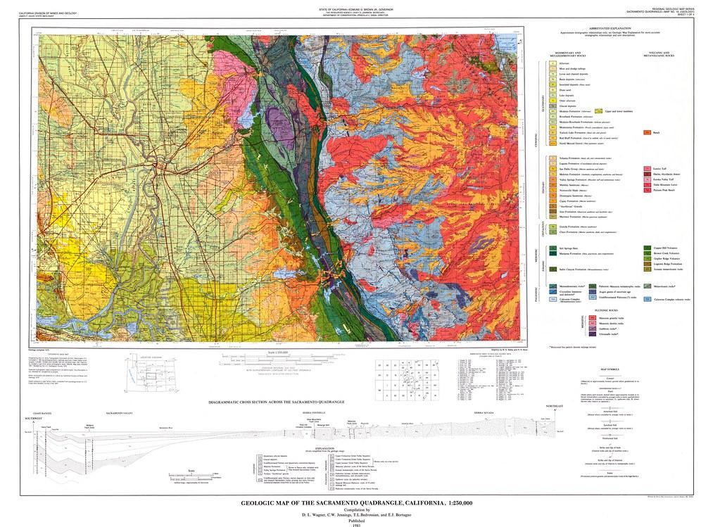California Geological Survey K Geologic Map S Flickr - California geologic map
