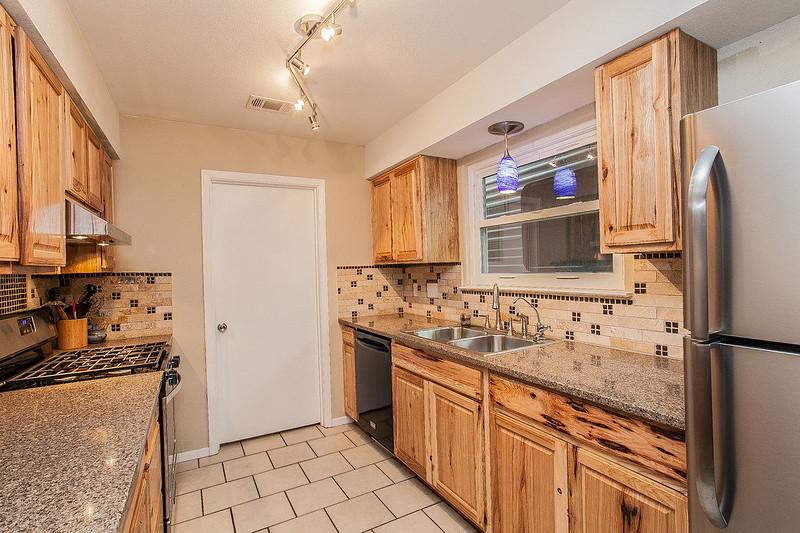 Kuchyň - dekor starého dřeva