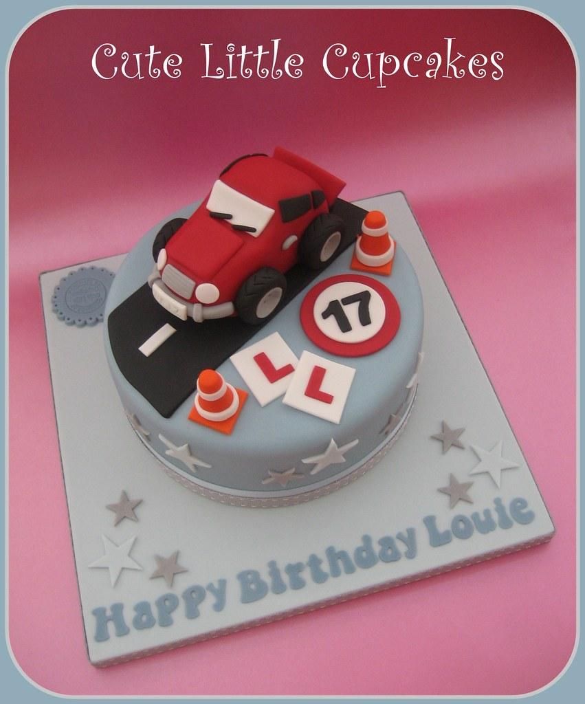 17th Birthday Car Cake Heidi Stone Flickr