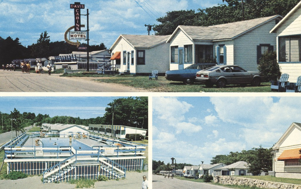 Davis Cabins-Cottages-Motel - Old Orchard Beach, Maine