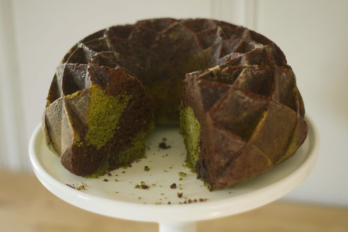 chocolate/matcha bundt | by childerhouse