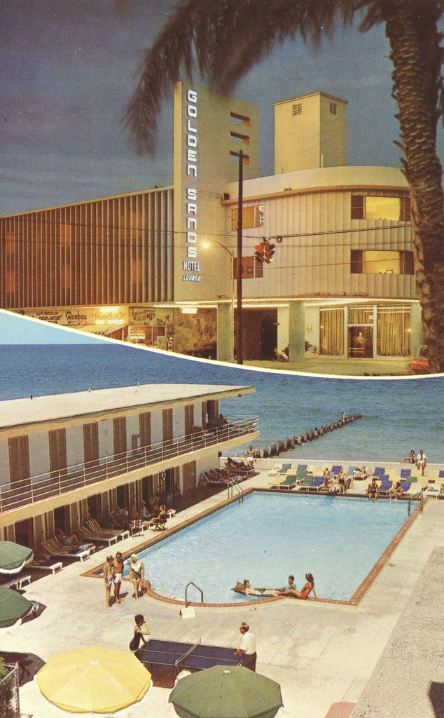 Golden Sands Motor Hotel - Miami Beach, Florida