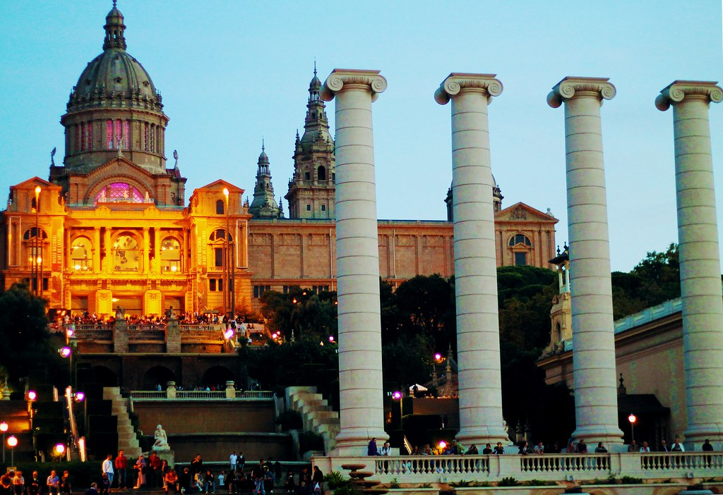 Drawing Dreaming - roteiro para visitar Barcelona - Montjuic - MNAC