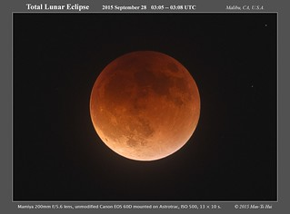 Total Lunar Eclipse 2015-09-28 ~0305 UTC | by Pachacoti