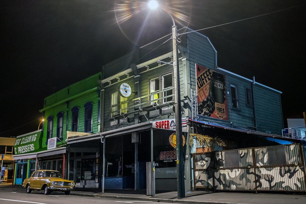 Night Life Wellington New Zealand Geoff Stahl Flickr