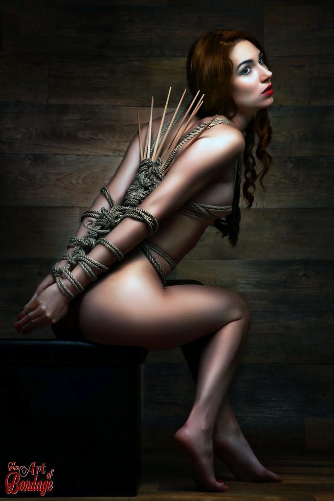 bondage models Nude