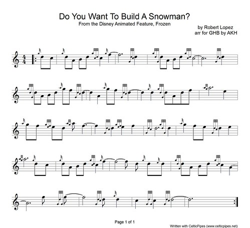 Do You Want To Build A Snowman1