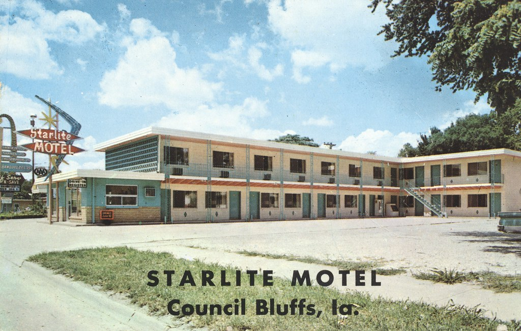 Starlite Motel - Council Bluffs, Iowa