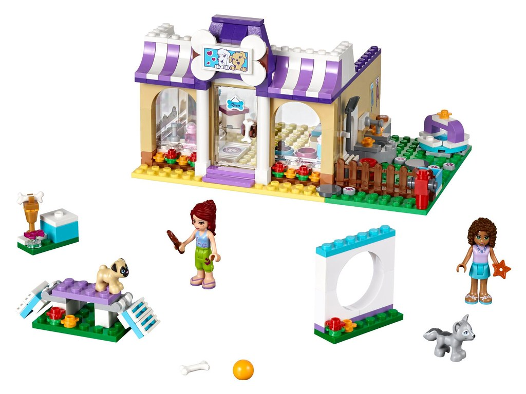 Lego Friends 41124 Puppy Daycare Release Summer 2016 Mo Flickr