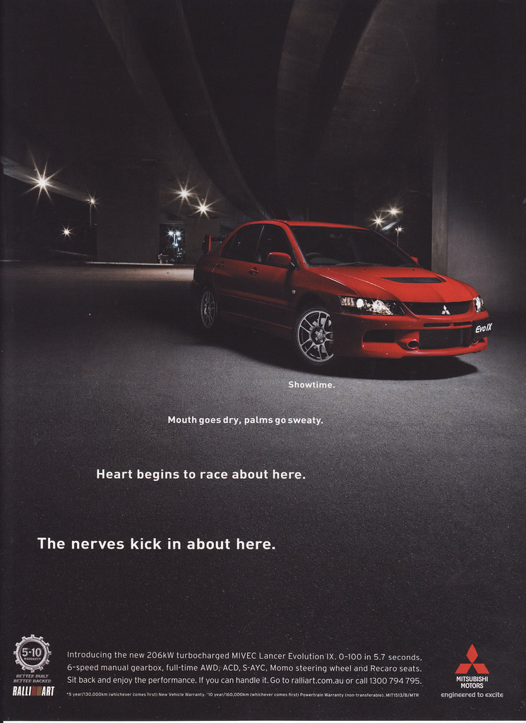 2005 Mitsubishi Lancer Evo Ix Ad Australia Covers The 20 Flickr