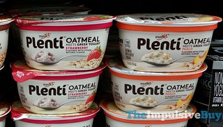 Yoplait Plenti Oatmeal (Strawberry and Peach) | by theimpulsivebuy