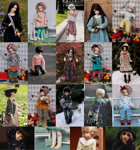 2015: sewing for my dolls | by Luthigern