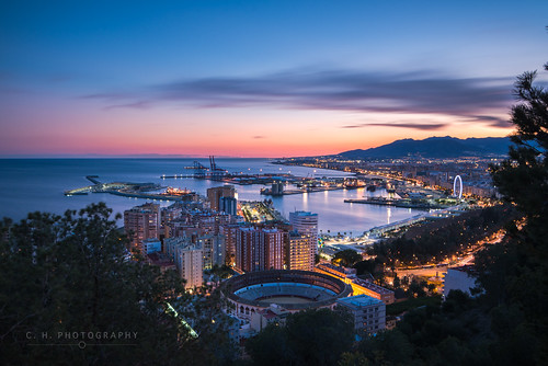City Lights - Malaga, Spain | by www.caseyhphoto.com