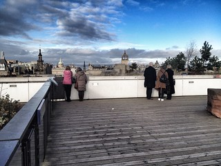 Roof terrace at the National Museum of Scotland in Edinburgh. | by Rich Flint Photography