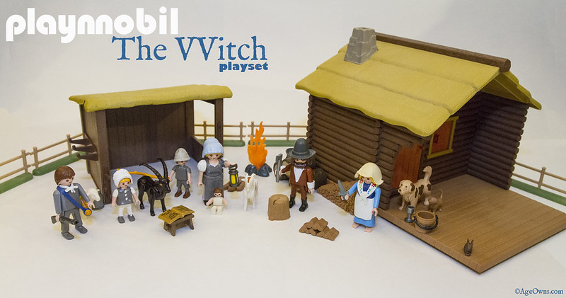 The VVitch playset by Playnnobil