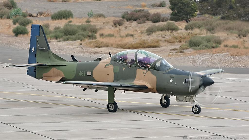 Resultado de imagen para A-29B Super Tucano a la Fuerza Aérea de Chile