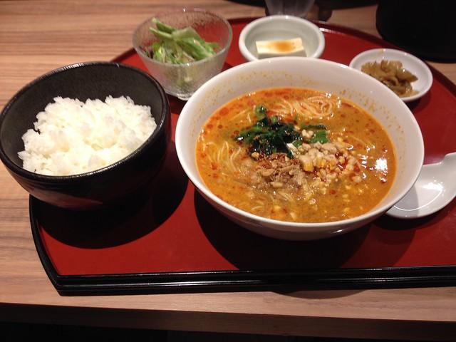 Szechuan Style Sesame Hot Noodles