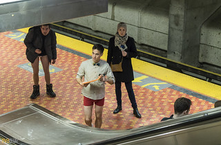 no pants subway ride montreal 2016 - 17 | by Eva Blue