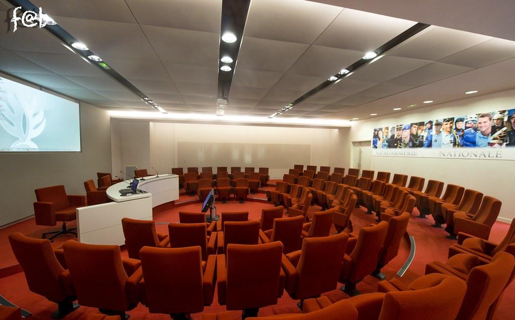 Salle de conférence direction générale de la gendarmerie n…   Flickr