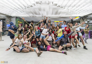 no pants subway ride montreal 2016 - 15 | by Eva Blue
