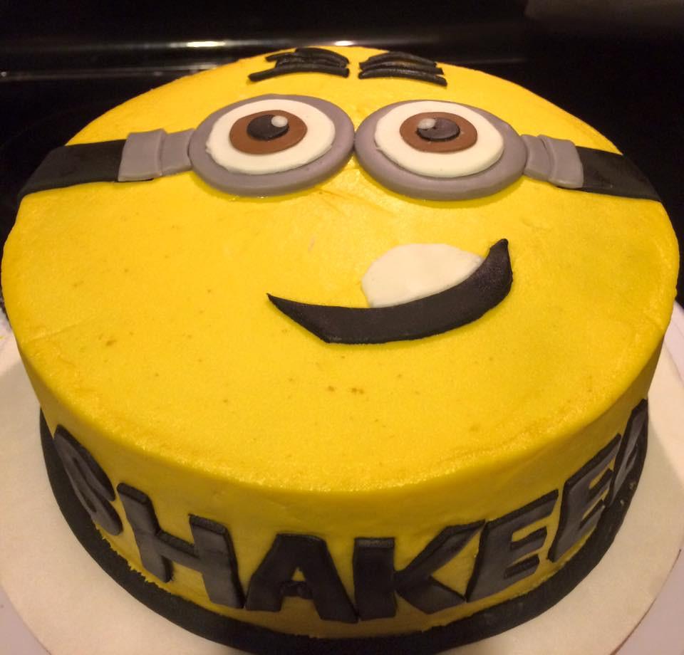 Minion Cake By Jacksonville FL Birthdaycakes4free