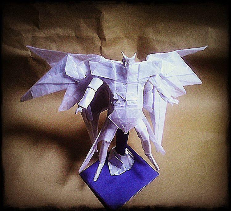 New Origami Gundam V6 Origamist Origamiart Origamipaper Origamirobot Origamiindonesia